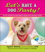 Let's have a dog party cover